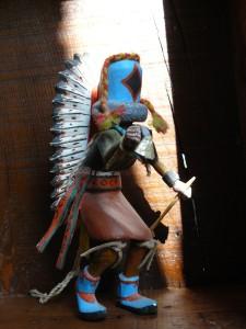 Kachina Etoile du Matin_1960_Hopi