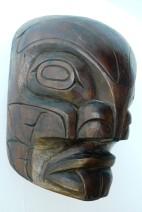 Masque Pug Wee, Kwakiutl, Colombie Britannique