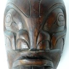 Masque Pug Wee, Kwakiutl, Colombie Britannique_face, quai Branly, masque amérindien