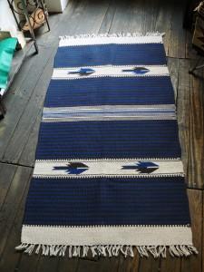 Tapis en laine, tapis Chimayo,Nouveau Mexique, tapis tissé a la main