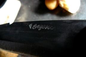 couteau corse Cazorla en acier carbone