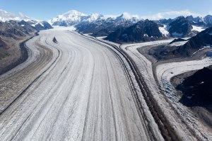 Le glacier Kahiltna