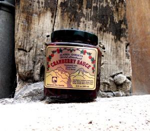 Sauce à la canneberge de la toundra