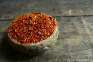 Condiment des Indiens Mapuches au piment et coriandre