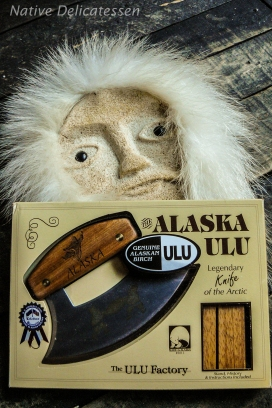 le couteau ulu des Eskimos