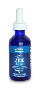 Zinc ionique